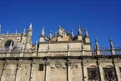 Seville katedra obrazy stock