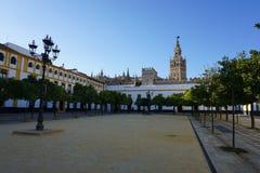 Seville katedra fotografia royalty free