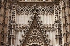 Seville katedry ornamentacja obrazy stock