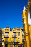 Seville la Macarena barrio street in Sevilla Royalty Free Stock Photography