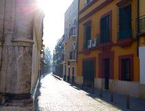Seville la Macarena barrio street in Sevilla. Andalusia Spain Stock Photography