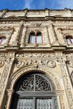 Seville landmark. Seville, Spain - Plateresque style architecture of Casa Consistorial (City Government building Stock Photos