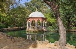 Seville - lato domu Maria Luisa park zdjęcie royalty free