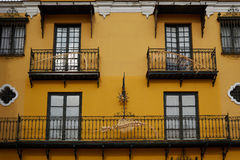 Seville Macarena barrio facades Sevilla Spain Stock Photography