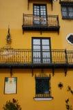 Seville Macarena barrio facades Sevilla Spain. Seville Macarena barrio facades in Sevilla Spain Stock Photo