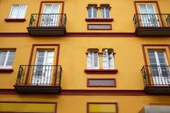Seville Macarena barrio facades Sevilla Spain. Seville Macarena barrio facades in Sevilla Spain Royalty Free Stock Photography