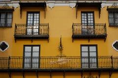 Seville Macarena dzielnicy fasady Sevilla Hiszpania Fotografia Stock