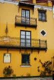Seville Macarena dzielnicy fasady Sevilla Hiszpania Obrazy Stock