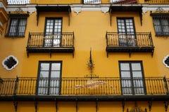 Seville Macarena dzielnicy fasady Sevilla Hiszpania Obraz Royalty Free