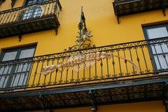 Seville Macarena dzielnicy fasady Sevilla Hiszpania Zdjęcie Stock