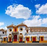 Seville Maestranza bullring plaza toros Sevilla Stock Images