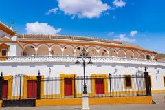 Seville Maestranza bullring plaza toros Sevilla Stock Photo