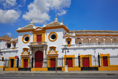 Seville Maestranza bullring plaza toros Sevilla Royalty Free Stock Photo
