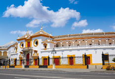 Seville Maestranza bullring plaza toros Sevilla Royalty Free Stock Photography