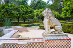Seville maria luisa park gardens spain. Seville maria luisa park gardens in andalucia spain Royalty Free Stock Photo