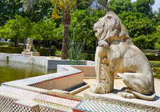 Seville maria luisa park gardens spain. Seville maria luisa park gardens in andalucia spain Royalty Free Stock Images