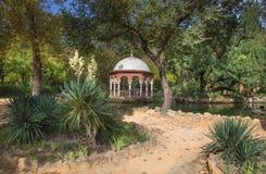 Seville - Maria Luisa park. Seville - The summer house Maria Luisa park Stock Photo