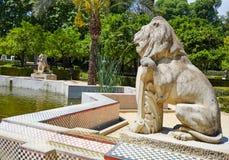 Seville Maria Luisa park uprawia ogródek Spain obrazy royalty free