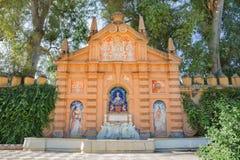 Seville - Maria Luisa parkerar arkivbilder