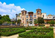 Seville maria luisa parkerar trädgårdar Spanien royaltyfri foto