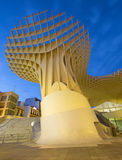 Seville - Metropol Parasol wooden structure located at La Encarnacion square Stock Photography