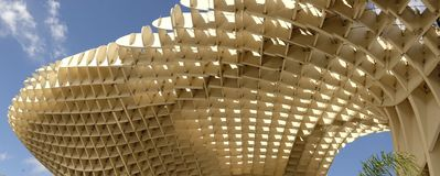 Seville Metropol slags solskydd Arkivfoton