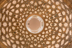 Seville - The mudejar cupola from side chapel in church Iglesia de San Pedro. Stock Photography