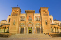 Seville - The Museum of Popular Arts and traditions (Museum of Artes y Costumbres Populares) royalty free stock images