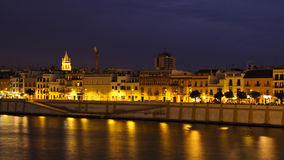 Seville by night Stock Images