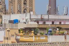 Seville od dachu Zdjęcia Stock
