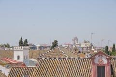 Seville od dachu Obrazy Stock