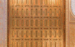 Seville - The one of mudejar ceilings in Alcazar of Seville. Stock Photos