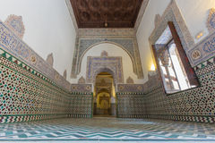 Seville - The one of rooms in Alcazar of Seville. Royalty Free Stock Photos