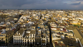 Seville Panorama Stock Photography
