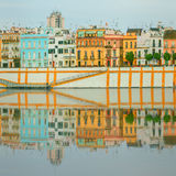 Seville panoramic cityscape with historical buildings, city skyline, Sevilla, Spain Stock Photo