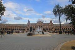 Seville, pejzaż miejski zdjęcie royalty free