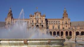 Seville, Plac De Epana zbiory wideo