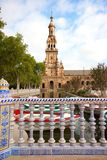 Seville, plaza de espana, Spain. Seville, Plaza de espana, andalucia, spain stock images
