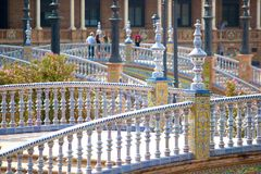 Seville, plaza de espana, Spain Royalty Free Stock Photography