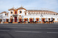 Seville Plaza De Toros Stock Photos