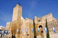 Seville portalcazar, Carmona, Seville, Spanien arkivbild