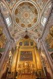 Seville - presbytery of baroque church Hospital de los Venerables Sacerdotes. Royalty Free Stock Photo