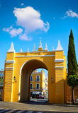 Seville Puerta de la Macarena Arch door Spain Royalty Free Stock Photos