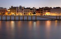Seville riverside Stock Image