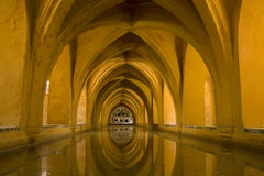 Seville - Royal Alcazar baths Stock Photo