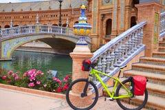 Seville Sevilla Plac De Espana Andalusia Hiszpania Zdjęcie Royalty Free