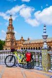 Seville Sevilla plac Espana Andalusia Hiszpania Obrazy Royalty Free