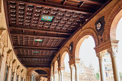 Seville Sevilla Plaza de Espana Andalusia Spain Stock Photography