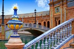 Seville Sevilla Plaza de Espana Andalusia Spain Royalty Free Stock Photos