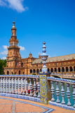 Seville Sevilla Plaza Espana Andalusia Spain royalty free stock image